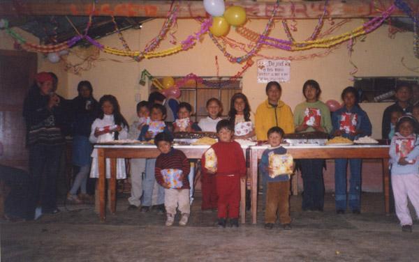 Edita acostumbraba celebrar cada mes los cumpleaños de los niños