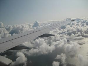 ¡Qué bello es estar sobre las nubes!