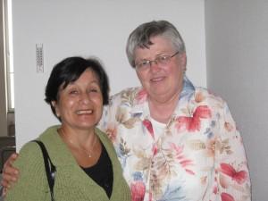 Con Anita, mi amiga de la juventud