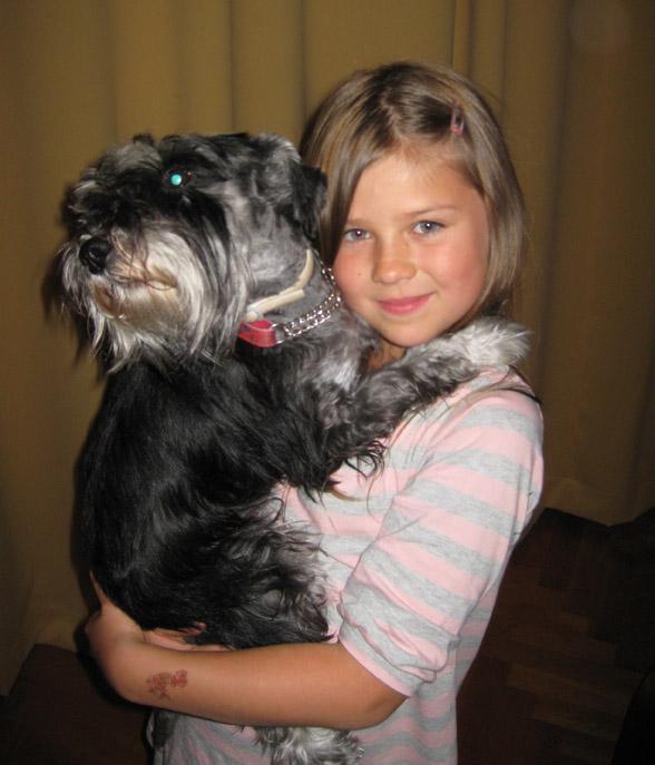 Mi bella sobrina-nieta Nelle