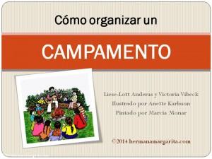 Como organizar el campamento