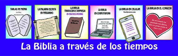 La Biblia a traves tiempos