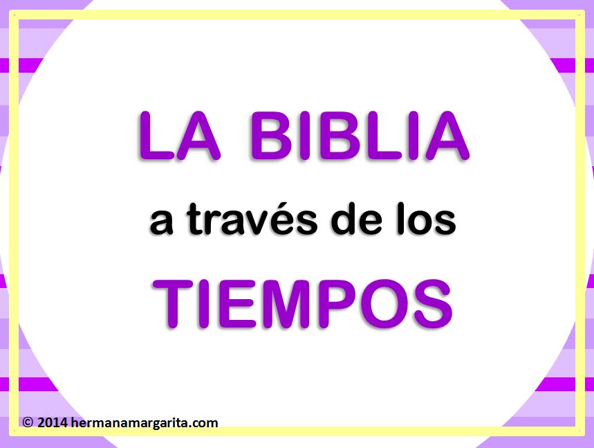 La Biblia a través de los tiempos