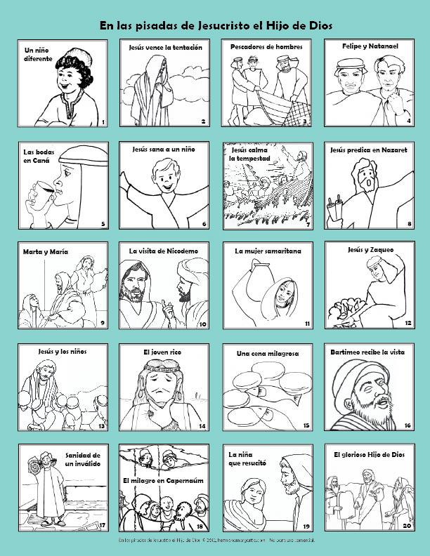 En las pisadas de Jesucristo el Hijo de Dios: 20 lecciones