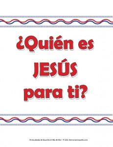 Quien es Jesus NVI