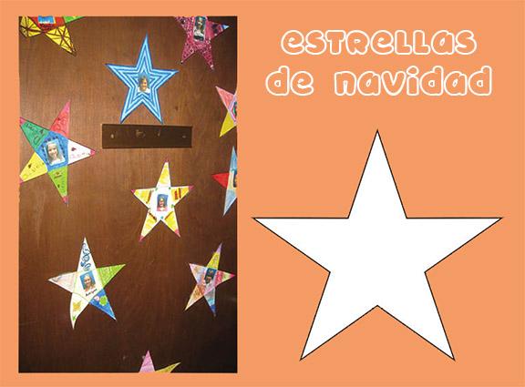 Actividades de navidad - Ideas para decorar estrellas de navidad ...