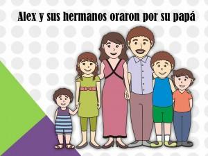 Alex y su familia