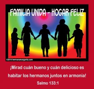 Familia unida Salmo 133