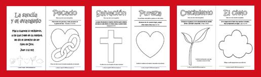 La sandia y el evangelio hojas