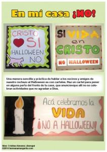 Carteles NO Halloween
